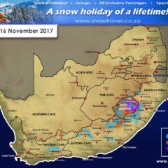 ADVANCED FORECAST: Lesotho, W Cape,  E Cape, Free State, KZN
