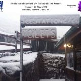 Snow Report: Snow Spotted in the Eastern Cape (Tiffindell) & Lesotho