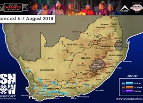 Snow Forecast: 6-7 August 2018