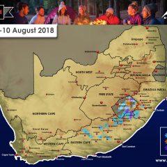 Snow Forecast: 9-10 August 2018