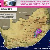 Advanced Snow Forecast: Lesotho and the Drakensberg: 3-5 October 2018
