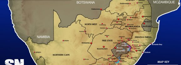 Snow Forecast: Eastern Cape, Lesotho, the Drakensberg: 12-13 October 2018