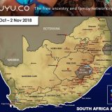 Snow Forecast : WC, Lesotho and KZN 30 Oct – 2 Nov 2018